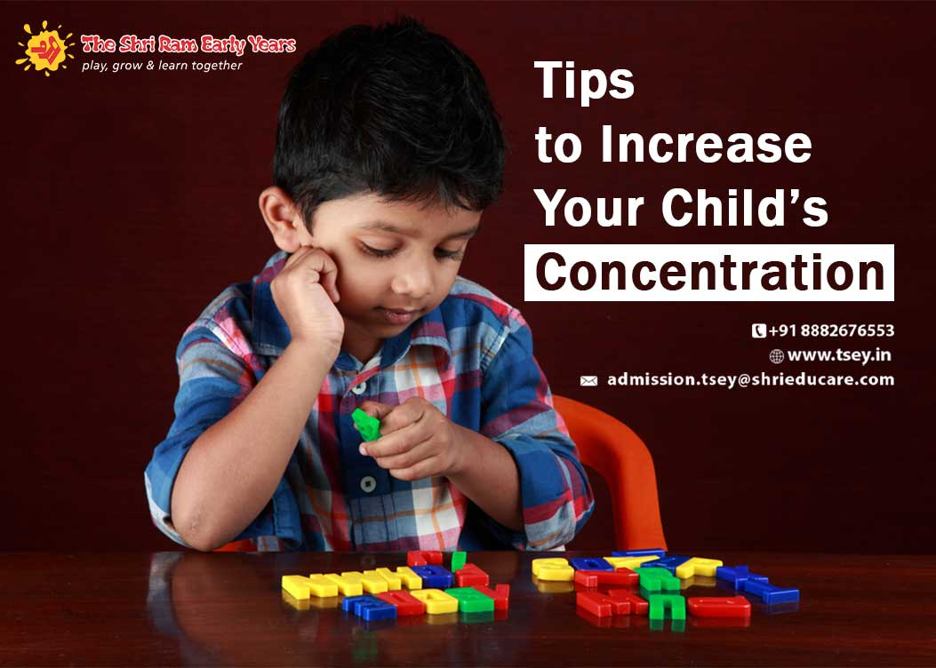 Tips to Increase Your Child's Concentration