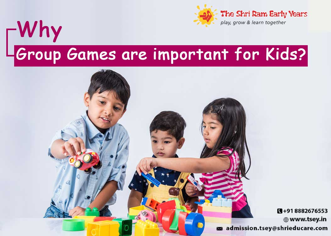 Why Group Games are important for Kids?